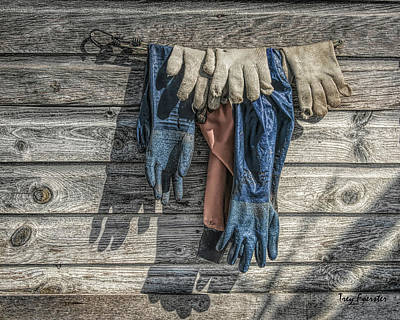 Photograph - Fishtown Gloves by Trey Foerster