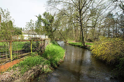 Photograph - Fishtrap Creek In The Park by Tom Cochran
