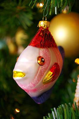 Fishy Ornament Art Print by Jera Sky