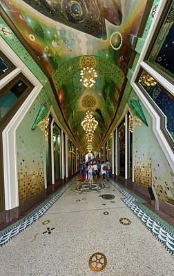 Photograph - Fishy Passage Panorama. Amsterdam by Jouko Lehto