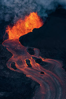 Pele Wall Art - Photograph - Fissure 8 by Christopher Johnson