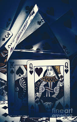 Playing Cards Photograph - Fit For A King And Queen by Jorgo Photography - Wall Art Gallery