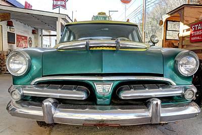 Antique Automobiles Photograph - Fifty Six Dodge Vintage Antique Car Fifties by Jane Linders