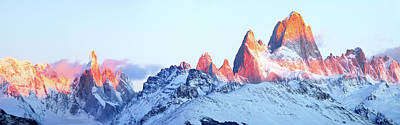 Photograph - Fitz Roy Peak by Phyllis Peterson