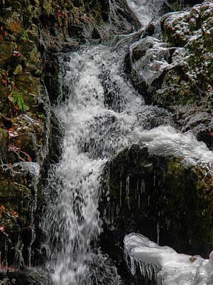 Photograph - Fitzgerald Falls Is Along The Appalachian Trail 2 by Raymond Salani III