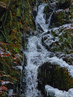 Photograph - Fitzgerald Falls Is Along The Appalachian Trail 4 by Raymond Salani III