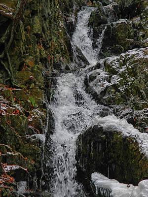 Fitzgerald Falls Is Along The Appalachian Trail 5 Art Print by Raymond Salani III