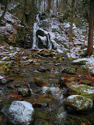 Photograph - Fitzgerald Falls Is Along The Appalachian Trail 7 by Raymond Salani III