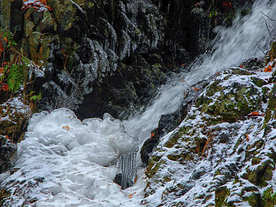 Photograph - Fitzgerald Falls Is Along The Appalachian Trail by Raymond Salani III