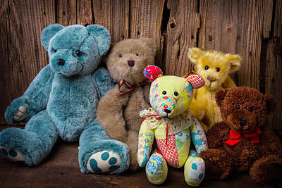 Photograph - Five Bears by Garry Gay