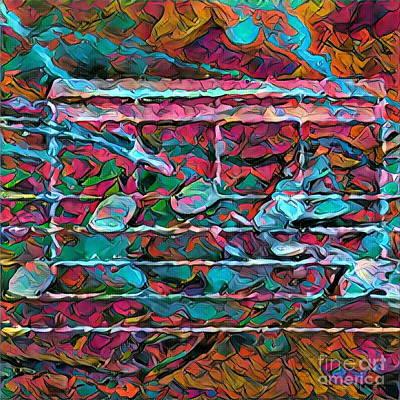 Digital Art - Five Figure Squared 1 by Lon Chaffin