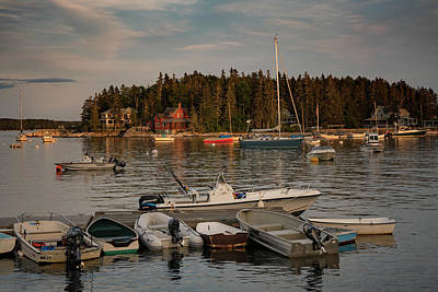 Photograph - Five Islands In Arrowsic by Darylann Leonard Photography