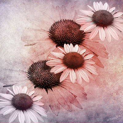 Digital Art - Five by M Montoya Alicea