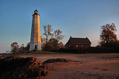 Photograph - Five Mile Point Light Station by Ben Prepelka