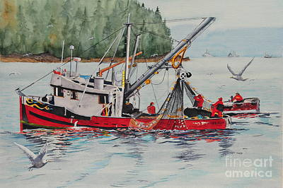 Painting - Five Miles Out Of Valdez by John W Walker