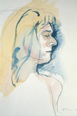 Painting - Five Minute Profile by Barbara Pease