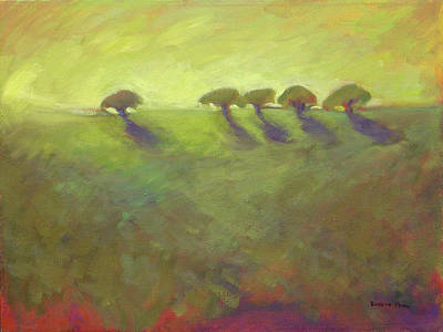 Painting - Five Oaks by Konnie Kim
