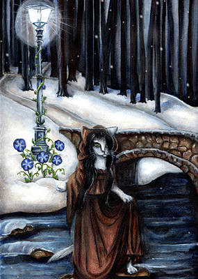 Painting - Five Of Pentacles by Tara Fly