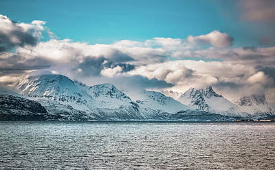 Photograph - Five Peaks At Altafjord Alta Norway by Adam Rainoff