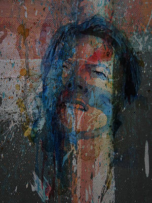 Music Artist Painting - Five Years by Paul Lovering