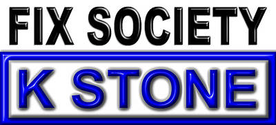 Wall Art - Digital Art - Fix Society 2nd Edition by K STONE UK Music Producer