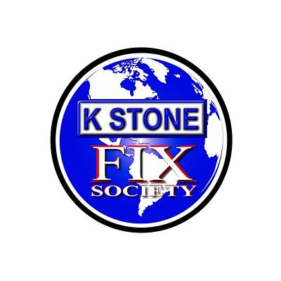 Wall Art - Digital Art - Fix Society by K STONE UK Music Producer