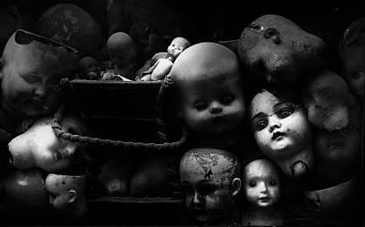 Doll Photograph - Fixed Gaze by Fulvio Pellegrini