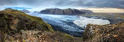 Photograph - Fjallsarlon Glacier by Alexey Stiop
