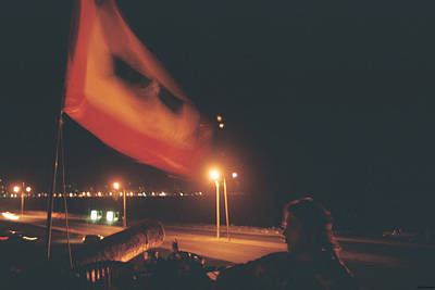 Photograph - Flag And Cannon by David Cardona