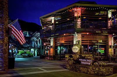 Photograph - Flag And Moonshine by Greg Mimbs