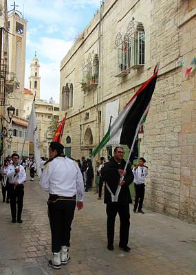 Photograph - Flag At Star Street by Munir Alawi