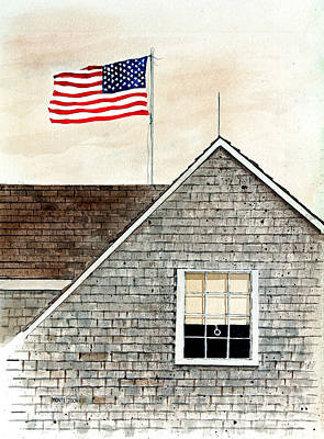 Flag Day Original by Monte Toon