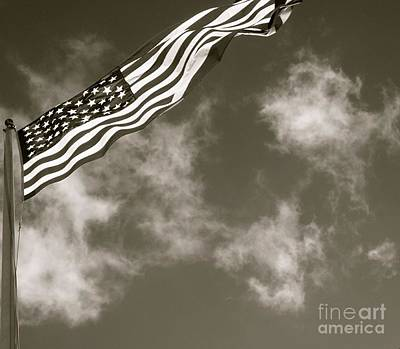 Photograph - Flag II by Louise Fahy