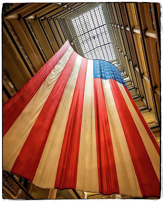 Photograph - Flag by Jerry Golab