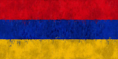 Flag Of Armenia Art Print