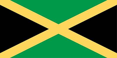 Painting - Flag Of Jamaica by Unknown