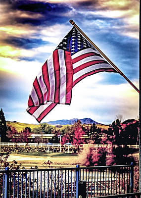 Photograph - Flag Of The Fallen by Janis Knight