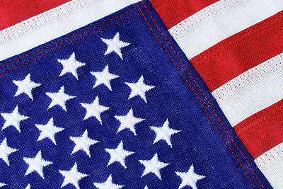 Photograph - Flag Of The United States by Jill Lang