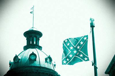 Photograph - Flag8320sd5143grain by Joseph C Hinson Photography