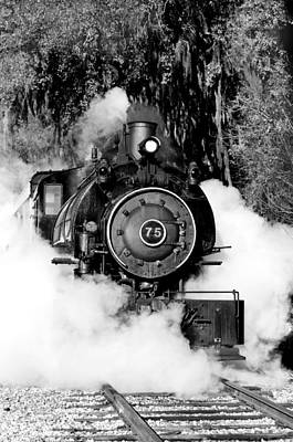 Photograph - Flagg Coal Steam Engine by Michael White