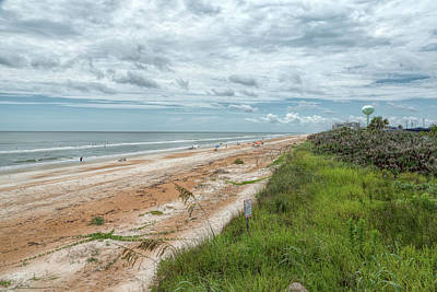 Photograph - Flagler Beach by John M Bailey