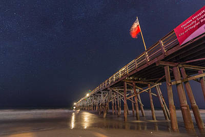 Flagler Beach Art Print