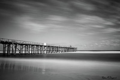 Photograph - Flagler Beach Pier by Robin Blaylock