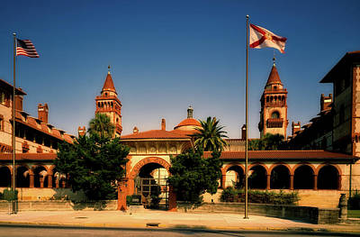 Photograph - Flagler College - St Augustine Florida by L O C