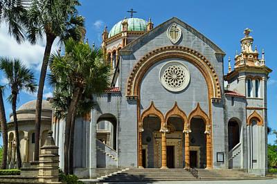 Photograph - Flagler Memorial Presbyterian Church, St Augustine by Kay Brewer