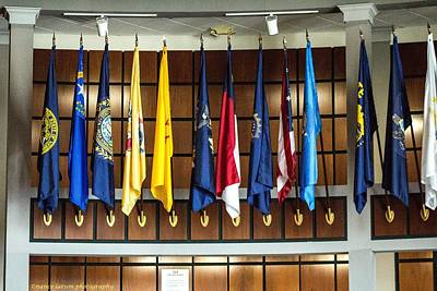 Photograph - Flags 2 by Nance Larson