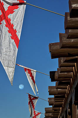 Photograph - Flags At The Palace Of Governors by Stuart Litoff