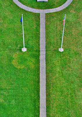 Photograph - Flags by Emily Stauring