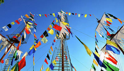 Photograph - Flags Of Gaspar by David Lee Thompson