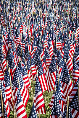Photograph - Flags Of Our Fathers by Andy Crawford